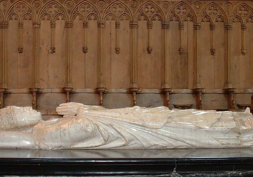tombeau du Pape Clément VI abbatiale de La Chaise-Dieu