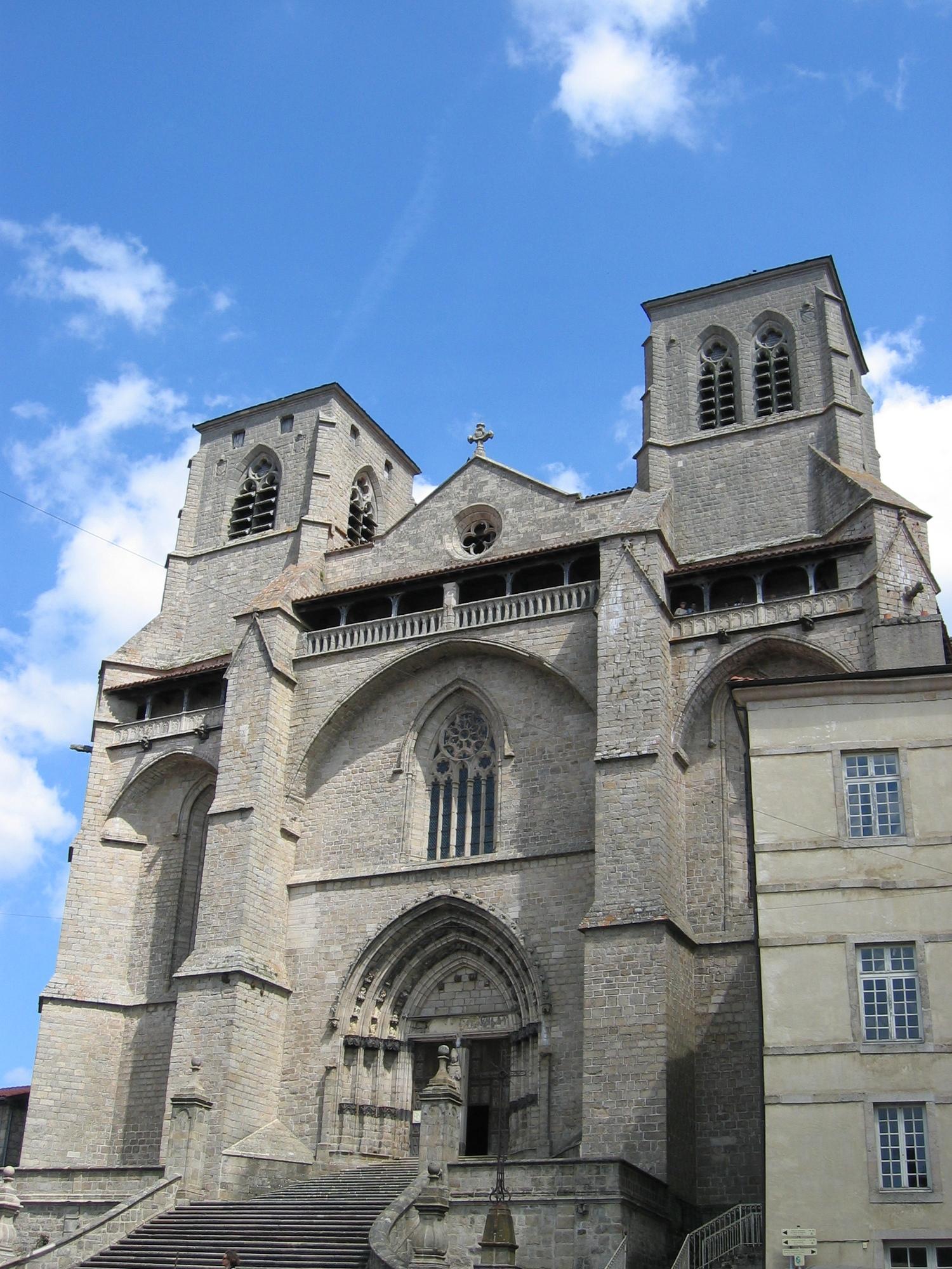 Abbatiale St Robert De La Chaise Dieu