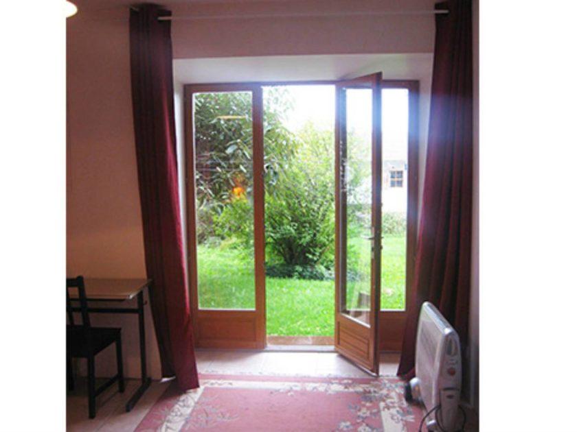 chambre ouverture jardin