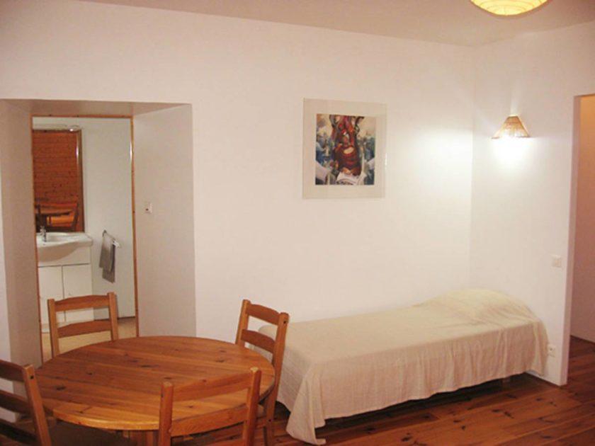 Chambre avec espace détente