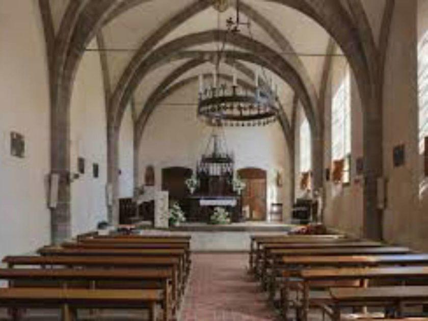 intérieur ancien réfectoire