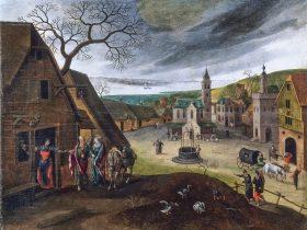 Collection des 12 tableaux Flamands