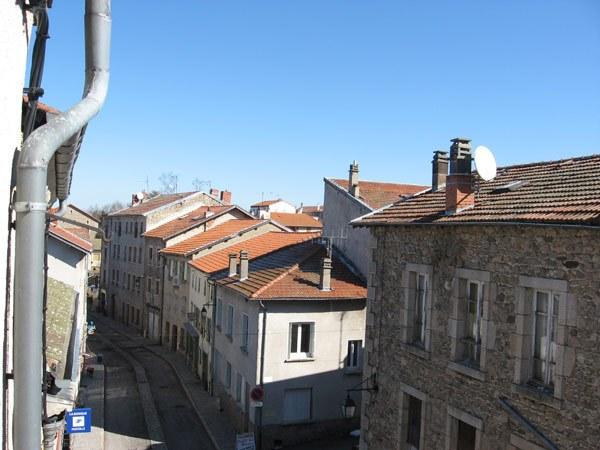 Vue rue St Martin La Chaise-Dieu