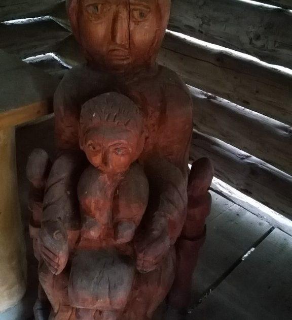statue intérieure