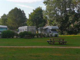 Aire de camping-car de Lapte