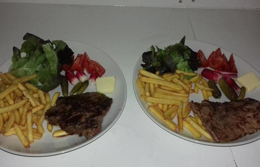 bavette salade frites