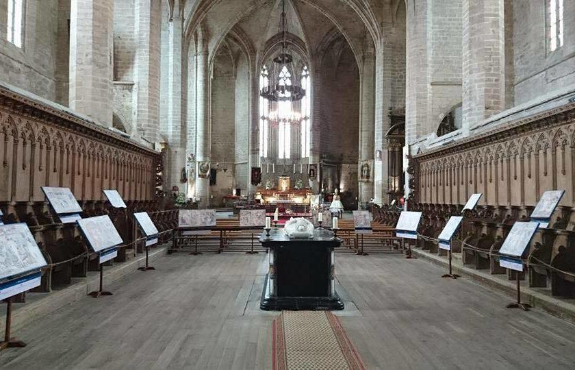 Choeur abbatiale St-Robert