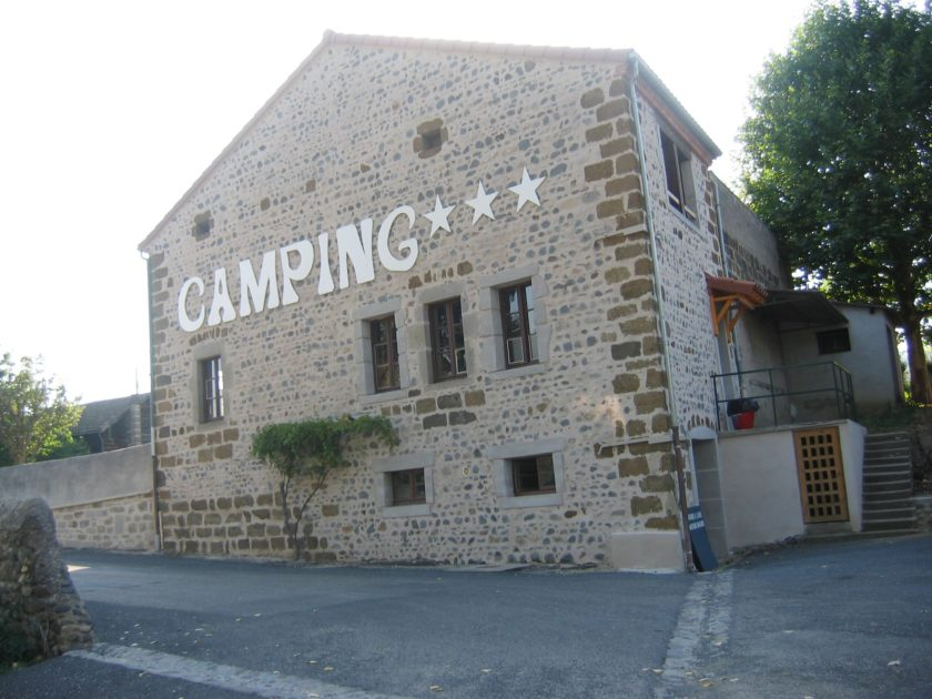 Gîte étape Camping Langeac