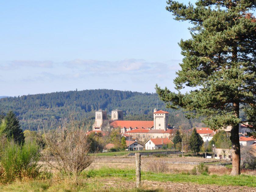vue Abbaye de La Chaise-Dieu