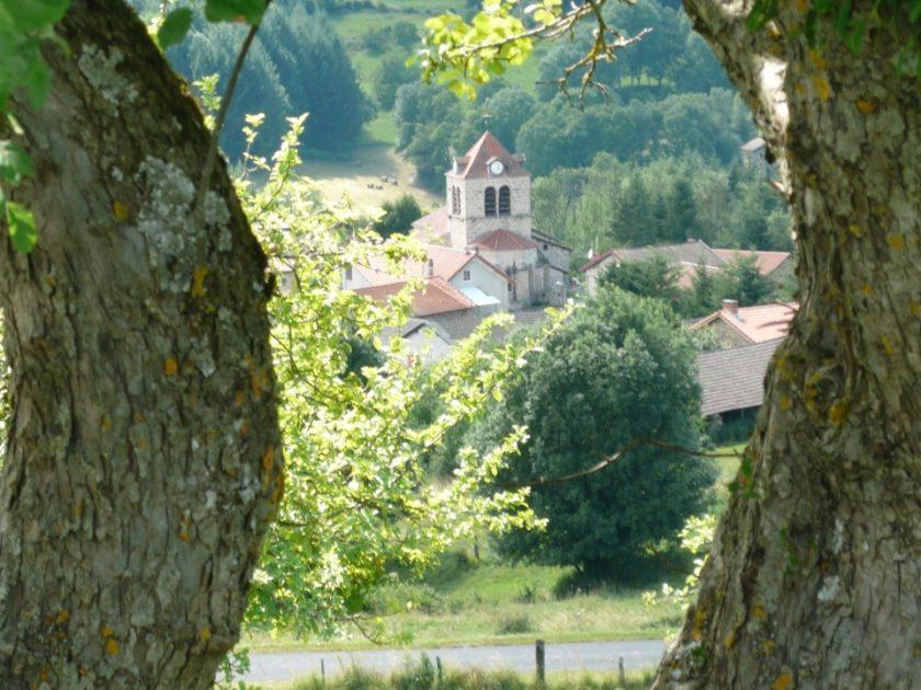 vue sur église