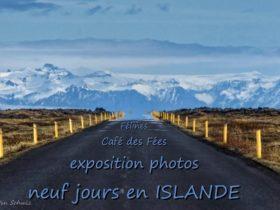 Exposition de photographies d'Islande