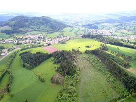 Le Mont Baury vu de Pouzols