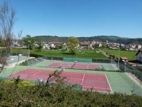 Terrains de tennis de Vousse