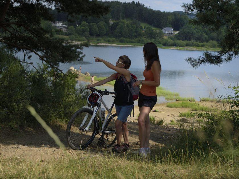 Tour du lac de Lavalette en VTT