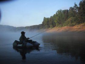 Pêche à la retenue de Lavalette