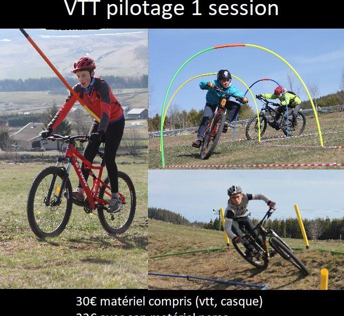 Vtt pilotage 1 session