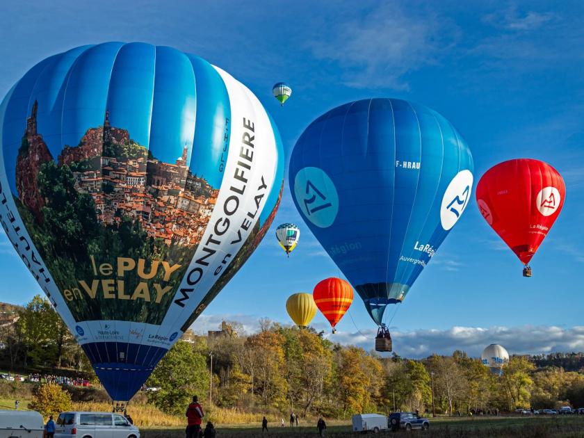 montgolfières