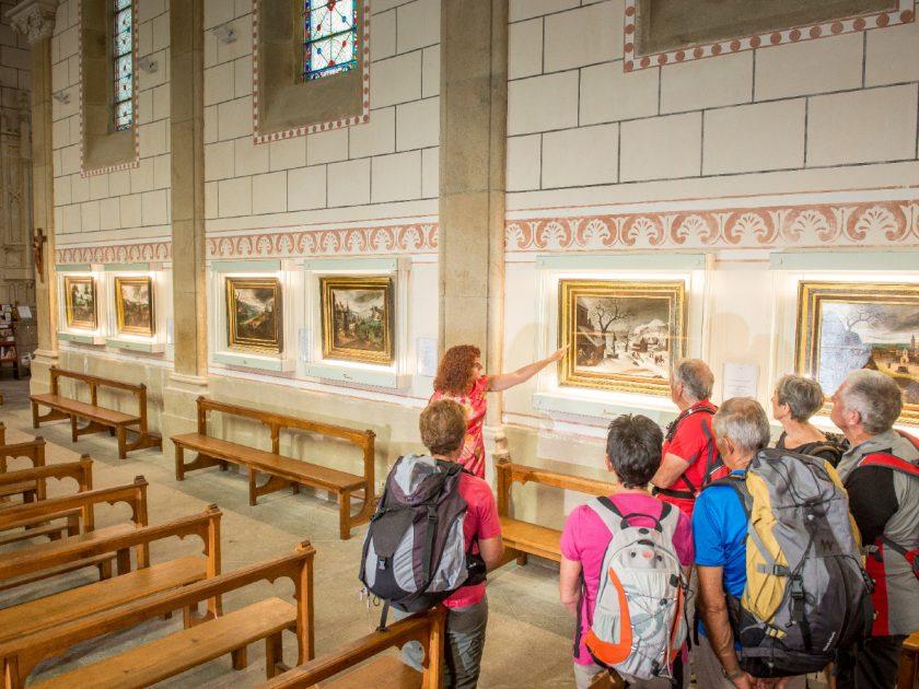 visite guidée tableaux flamands