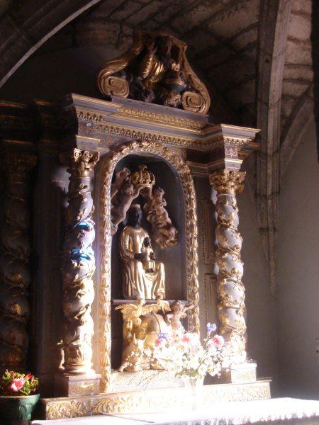 Autel de la Vierge noire