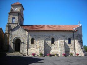 Façade de l'église de l'Exaltation de la Sainte-Croix