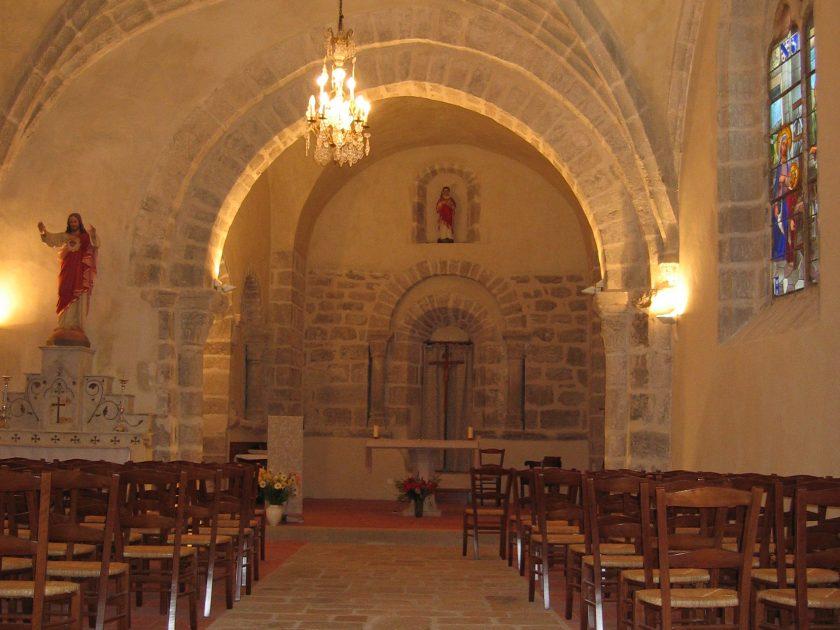 intérieur église Saint-Etienne