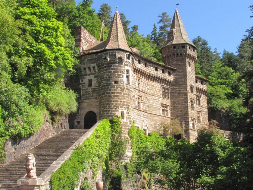 fassade du château