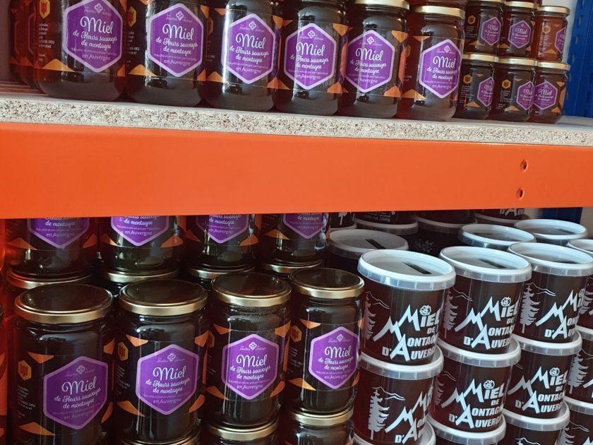 gamme de miels