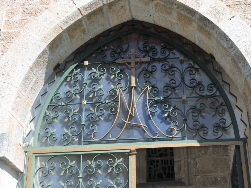 PCU_ Eglise Ste-Eugénie_ porte entrée vitrée