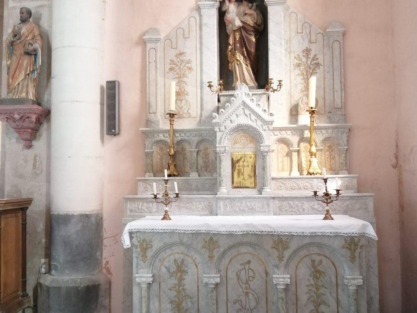 PCU_ Eglise st-Roch_autel St-Joseph