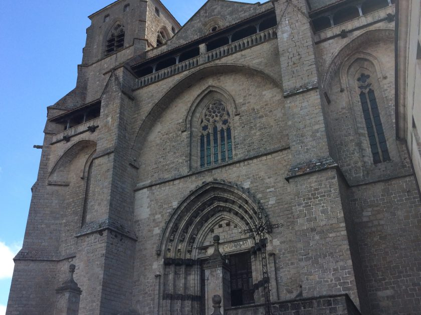 Ac_Abbaye de La Chaise-Dieu_Façade abbatiale