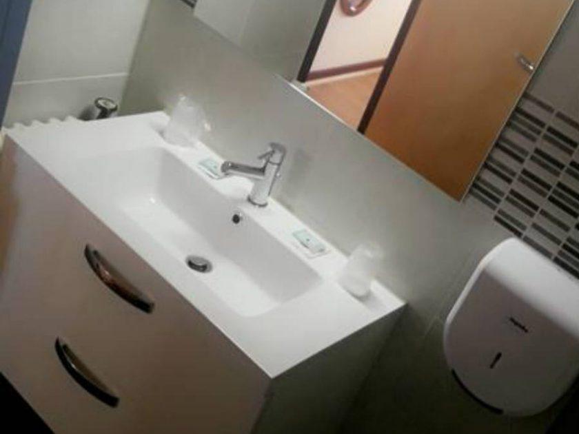 HOT_Hôtel-Restaurant Le Châlet_salle de bain