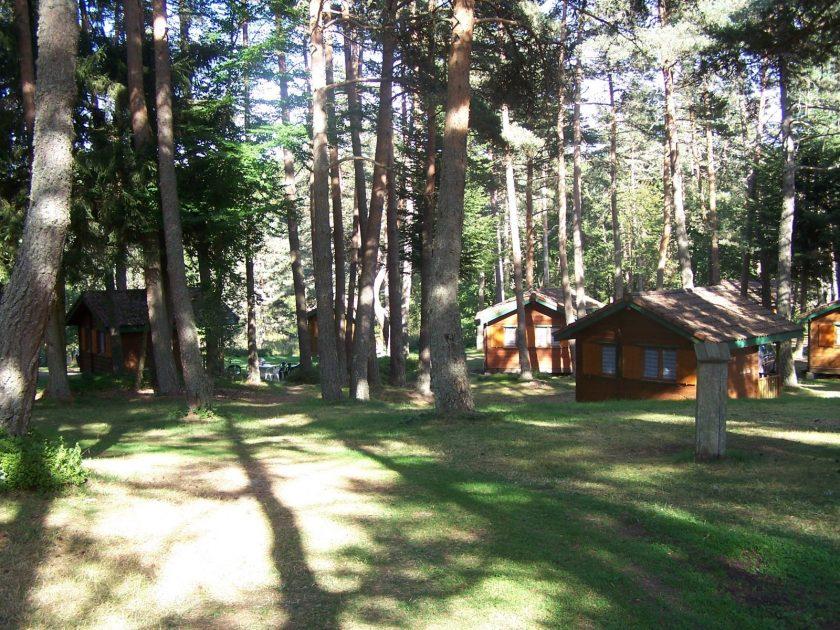 HEB_Camping municipal Les Prades_Chalets en bois