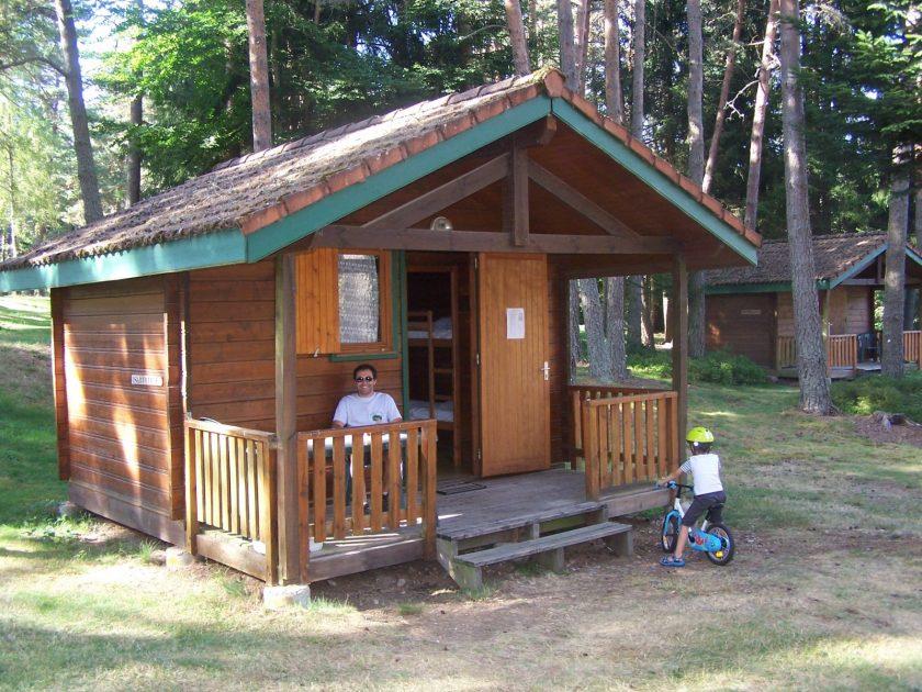 HEB_Camping municipal Les Prades_Chalet en bois