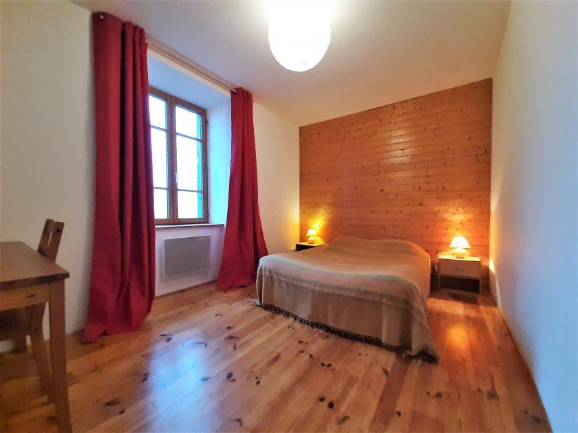 """HLO_Chambre d'hôtes """"Le clos de l'âtre""""_chambre avec lit"""