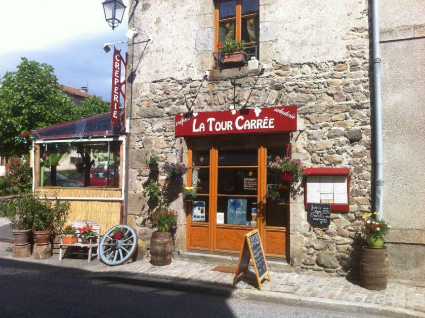 """RES_Crêperie """"La Tour Carrée""""_Devanture entrée"""