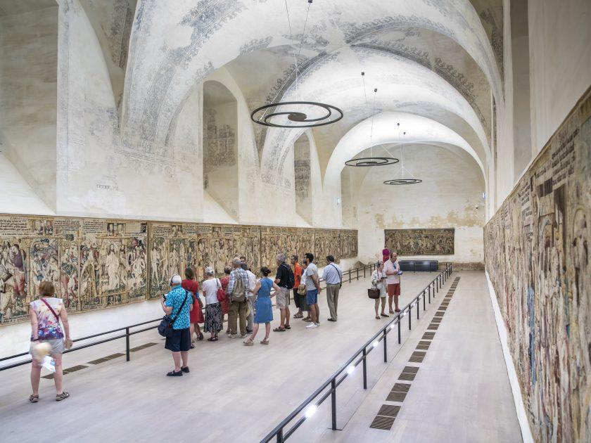 EVE_Parcours muséographique de l'abbaye de La Chaise-Dieu_Espace des Tapisseries, Chapelle du Collège