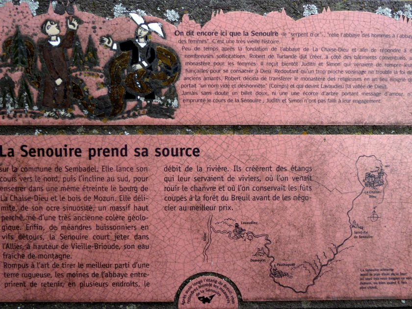 EQUI_PR 620 – Le Serpent d'Or_Panneau lave émaillée explicatif