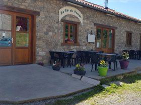 """RES_Restaurant """"La Clé des Champs""""_devanture-entrée"""