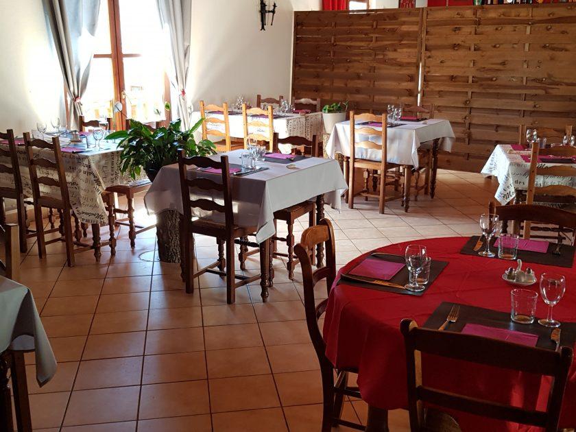 """RES_Restaurant """"La Clé des Champs""""_salle de restaurant"""