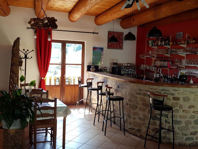 """RES_Restaurant """"La Clé des Champs""""_bar intérieur"""
