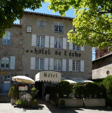 """RES_Restaurant """"L'Echo et L'Abbaye"""" _devanture"""